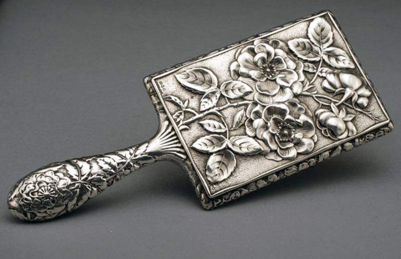 Leopard Antiques Gorham Sterling Silver Hand Mirror
